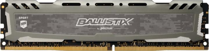 Crucial Ballistix Sport LT Grey 8GB DDR4 3000