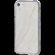EPICO pružný plastový kryt pro iPhone 7 MARBLE - white
