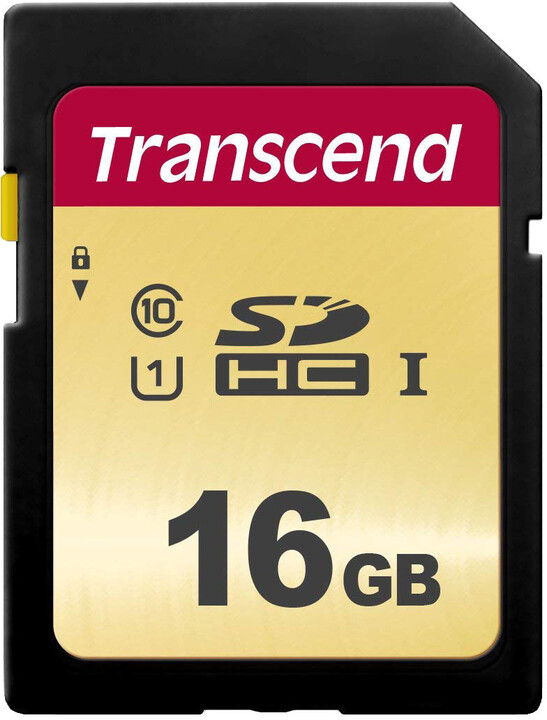 Transcend SDHC 500S 16GB UHS-I U1