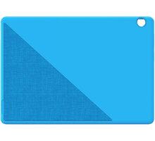 Lenovo TAB M10 side BUMPER + film, fólie na display, modrá - ZG38C02631