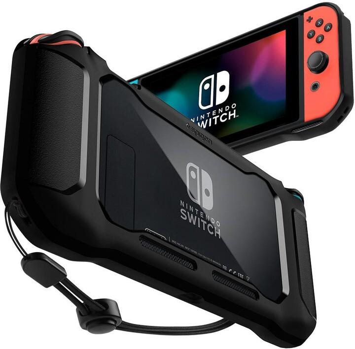 Spigen ochranné pouzdro Rugged Armor pro Nintendo Switch, černá