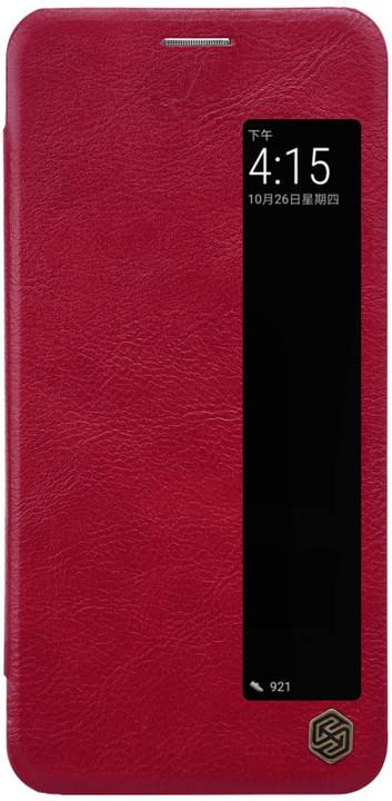 Nillkin Qin S-View Pouzdro pro Huawei P20 Pro, červený