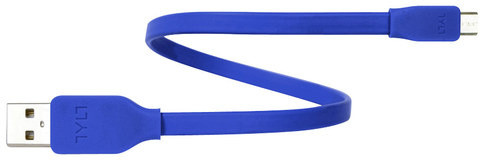 TYLT SYNCABLE - GEN II Micro Micro USB (30cm) Blue