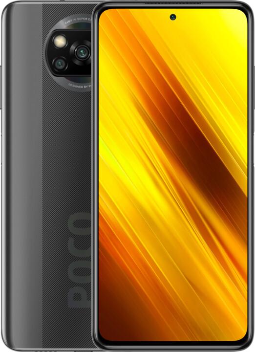 Xiaomi POCO X3, 6GB/128GB, Shadow Gray