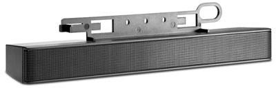 HP LCD Speaker Bar black