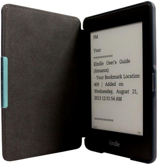 C-TECH PROTECT pouzdro pro Amazon Kindle PAPERWHITE, hardcover, AKC-05, modrá