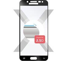 FIXED Full-Cover ochranné tvrzené sklo pro Samsung Galaxy J5 (2017), přes celý displej, černé - FIXGF-170-033BK