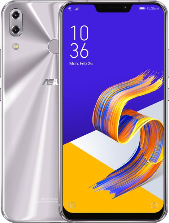 Asus ZenFone 5Z ZS620KL, 8GB/256GB, stříbrná