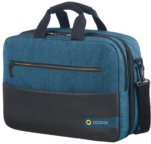 "Samsonite American Tourister CITY DRIFT 3-WAY BOARDING BAG 15.6"", černá/modrá"