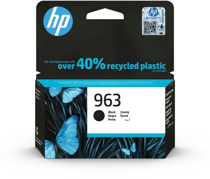 HP 3JA26AE č. 963, černá