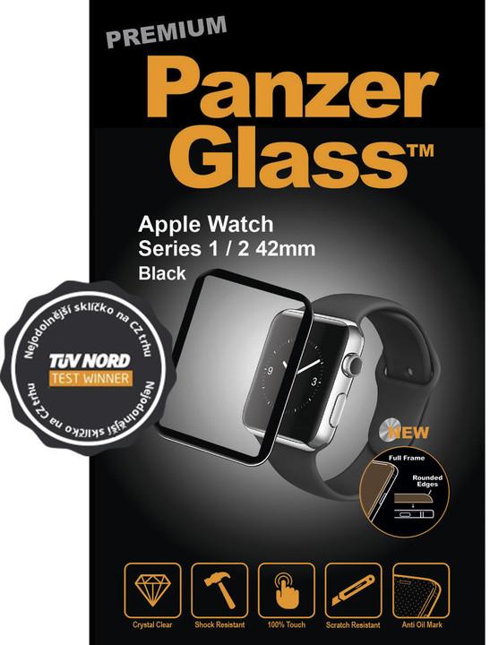 PanzerGlass Premium pro Apple Watch Series 2 42mm, černé