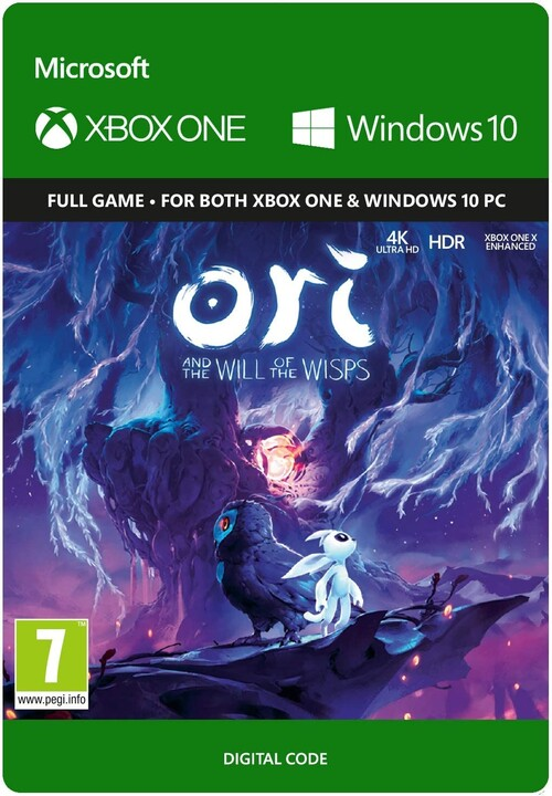 Ori and the Will of the Wisps (Xbox Play Anywhere) - elektronicky
