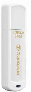 Transcend JetFlash730 64GB, bílá