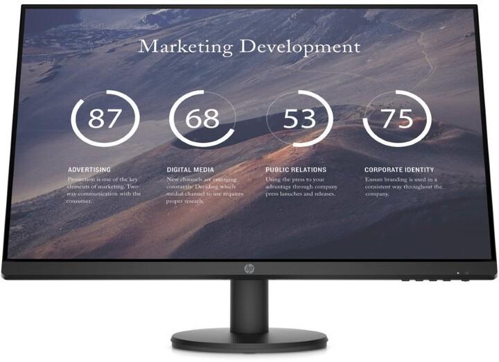 "HP P27v G4 - LED monitor 27"""