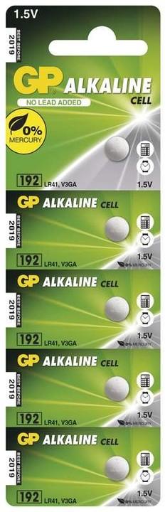 GP, 192, alkalická, 5ks