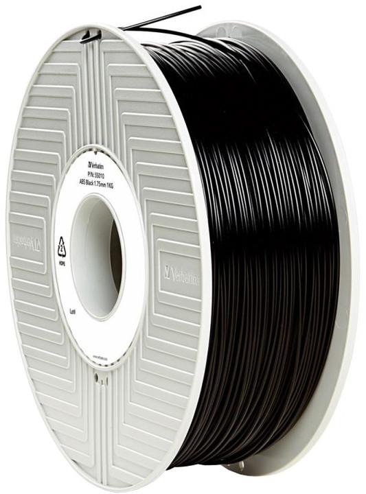 Verbatim tisková struna (filament), ABS, 1,75mm, 1kg, černá