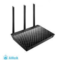 ASUS RT-AC66U B1, AC1750, Wi-Fi Dual-Band USB3.0 Gigabit Aimesh Router - 90IG0300-BM3100