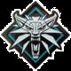 Odznak The Witcher - Vlk