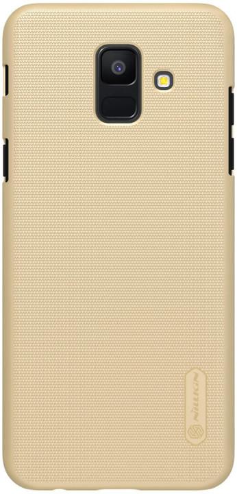 Nillkin Super Frosted zadní kryt pro Samsung A600 Galaxy A6, zlatý