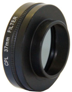 Apei Outdoor CPL Filter & Lens 37mm for GoPro 4/3+/3