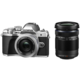 Olympus E-M10 Mark III + ED 14-42mm EZ + 40-150mm R, stříbrná/stříbrná/černá  + Vrátíme vám až 2600 Kč + 300 Kč na Mall.cz