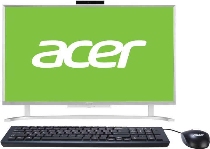 Acer Aspire C 24 (AC24-760), stříbrná
