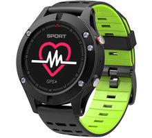 IMMAX chytré hodinky SW8, černo/zelená 09012
