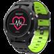 IMMAX chytré hodinky SW8, černo/zelená