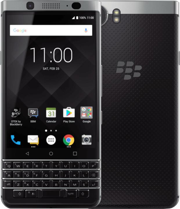 BlackBerry KeyOne, černá/stříbrná