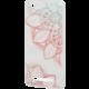 EPICO pružný plastový kryt pro Xiaomi Redmi 4A FLOWER MANDALA  + EPICO Nabíjecí/Datový Micro USB kabel EPICO SENSE CABLE