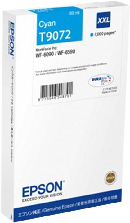 Epson C13T907240, XXL, azurová