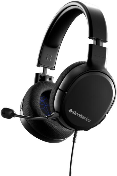 SteelSeries Arctis 1, černá/modrá