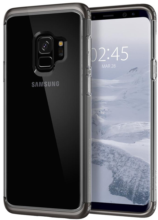 Spigen Neo Hybrid Crystal pro Samsung Galaxy S9, gunmetal