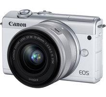 Canon EOS M200, bílá + EF-M 15-45mm IS STM 3700C010