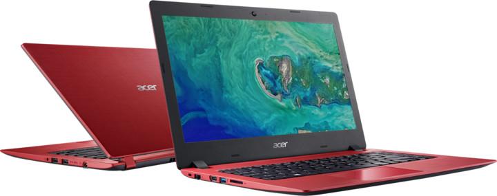 Acer Aspire 1 (A114-31-C25P), červená