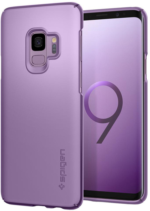 Spigen Thin Fit pro Samsung Galaxy S9, purple