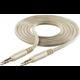 Cellularline Unique Design Audio kabel pro iPhone, 2x 3,5mm jack, zlatý