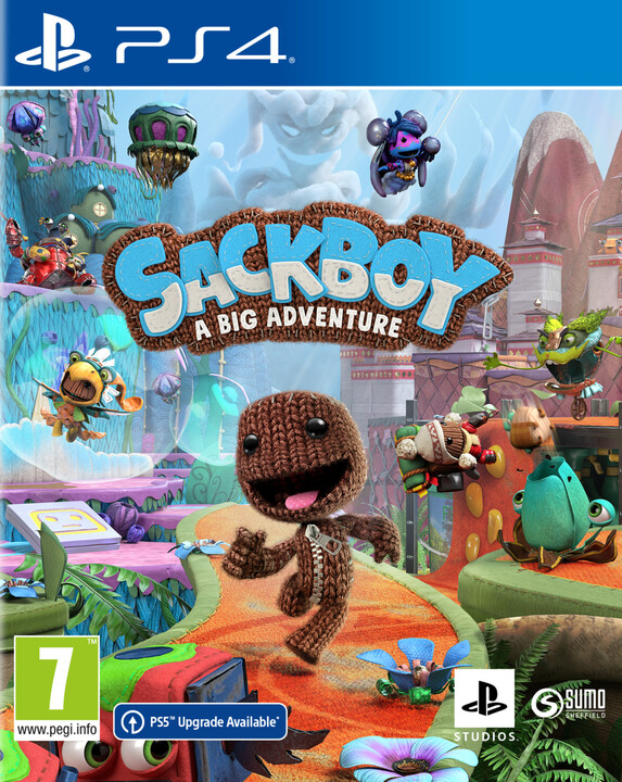 Sackboy: A Big Adventure (PS4)