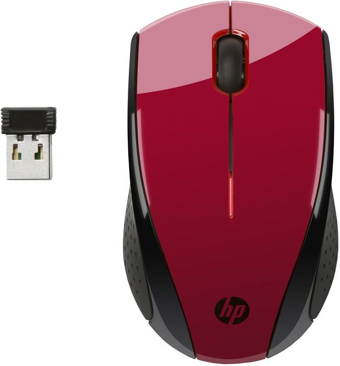 HP X3000, červená