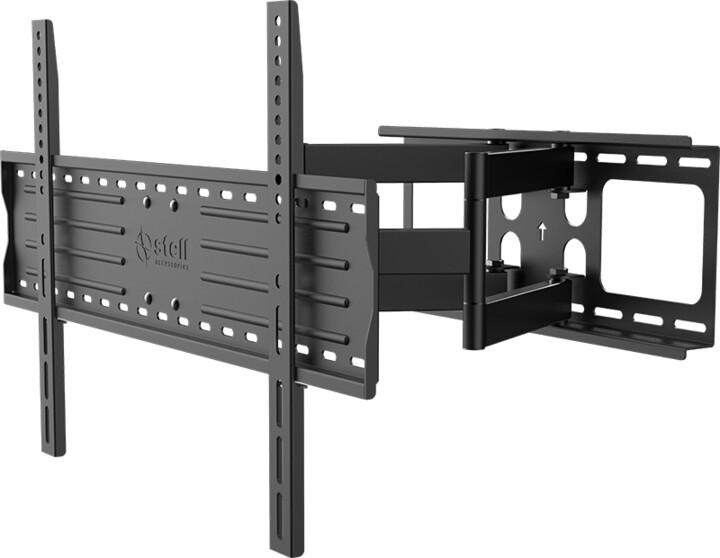 Stell SHO 3610 mk2 SLIM výsuvný držák TV, černá