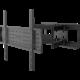 Stell SHO 3610 mk2 SLIM výsuvný držák TV, černá BHP 4060 mk2 WHITE SLUCH. S MIK. BUXTON ( v ceně 249,-)
