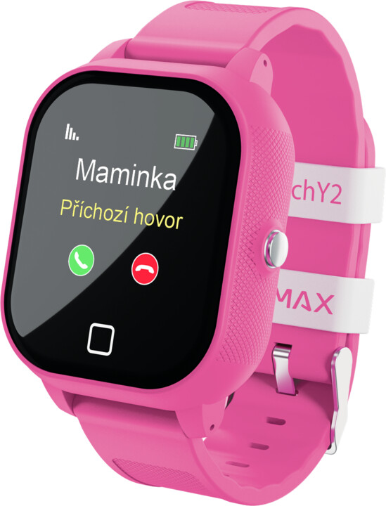 LAMAX WatchY2 Pink - dětské smart watch