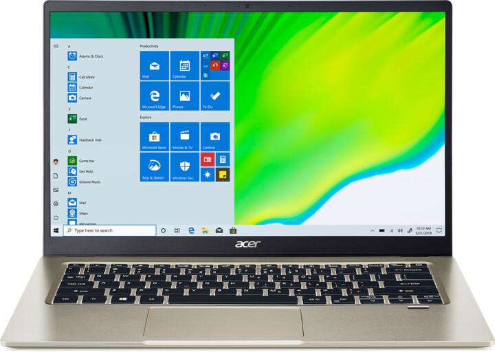 Acer Swift 1 (SF114-33), zlatá