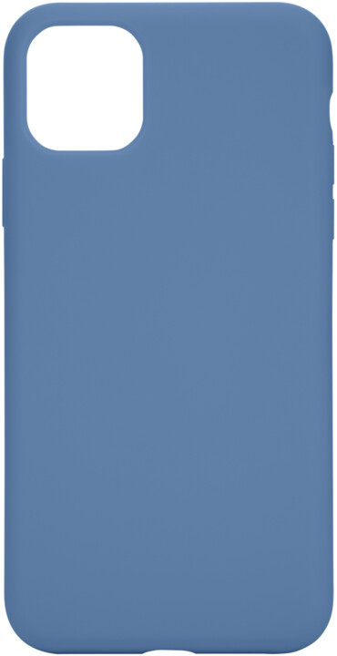 Tactical silikonový kryt Velvet Smoothie pro Apple iPhone 11 Pro Max, světle modrá