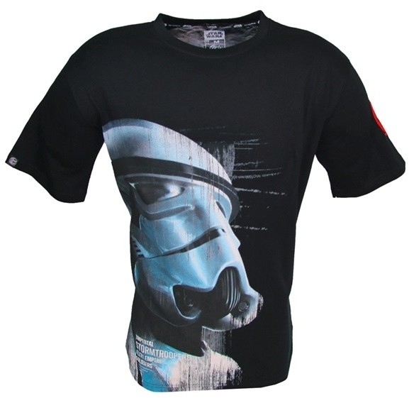 Star Wars - Imperial Stormtrooper, černé (XL)