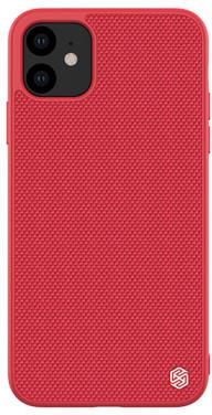 Nillkin Textured Hard pouzdro pro iPhone 11, červená
