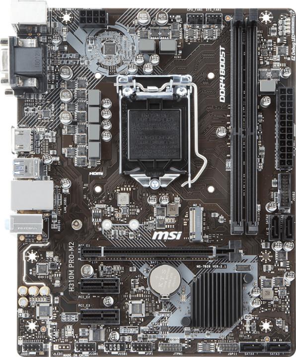 MSI H310M PRO-M2 - Intel H310