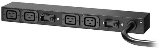 APC rack PDU, 0U/1U, 220-240V, 32A, (4) C19, EMEA/ASIA