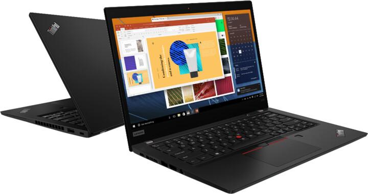 Lenovo ThinkPad X390, černá