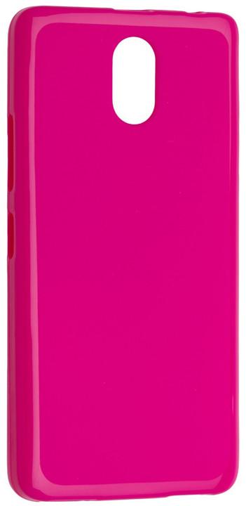 FIXED TPU gelové pouzdro pro Lenovo Vibe P1m, růžová